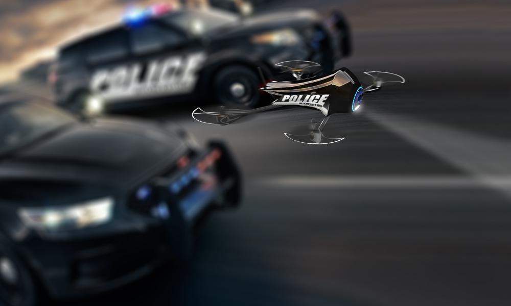 drone police polizia