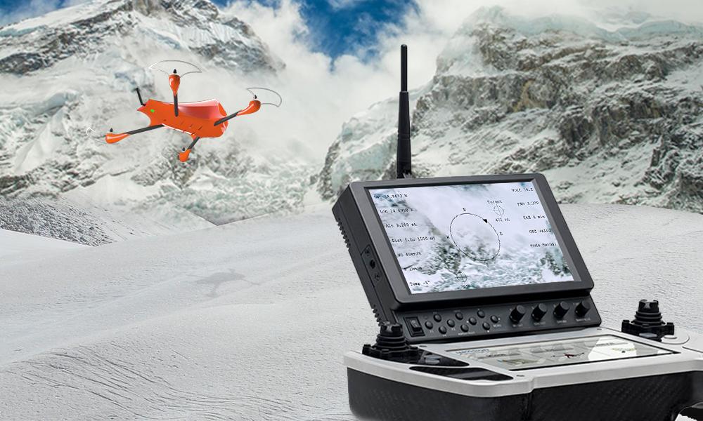 drone soccorso rescue emergency