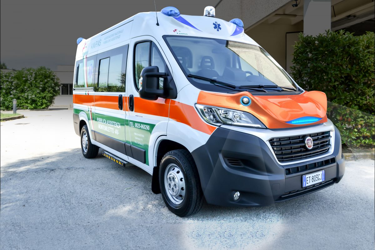 snake spoiler ambulanza
