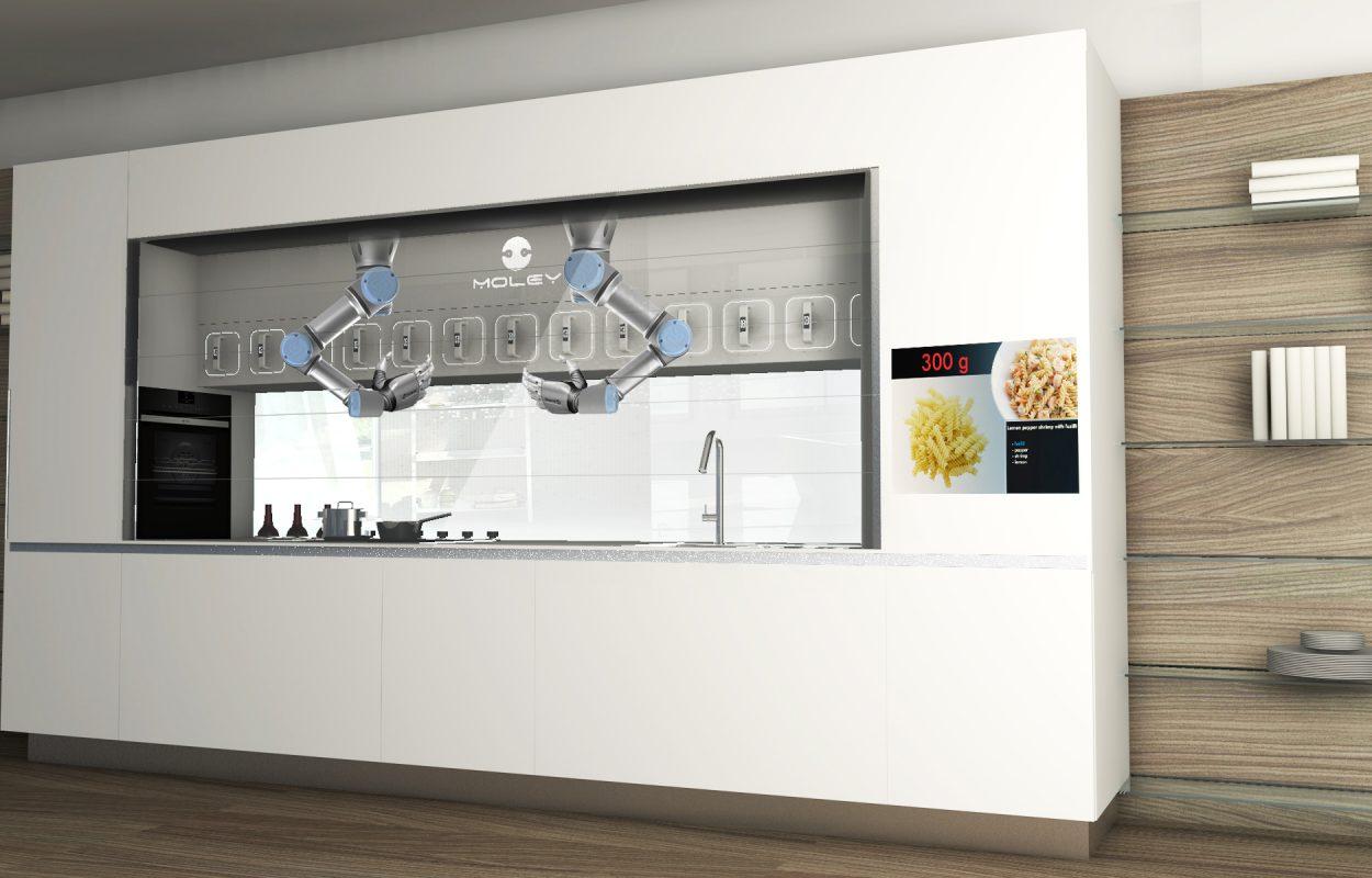 Moley kitchen robot